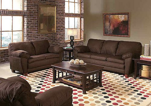 Ideas for Decorating Chocolate Coffee living rooms