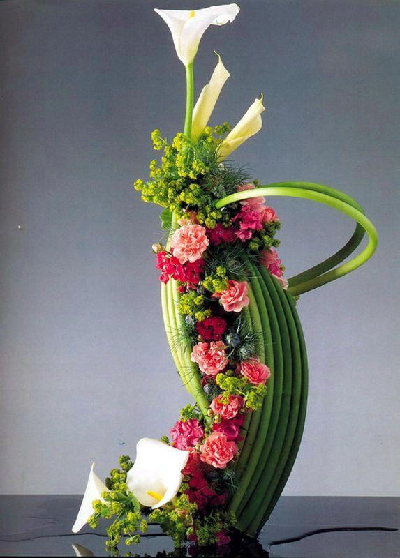 Ideas For Modern Table Centers Flower Arrangements