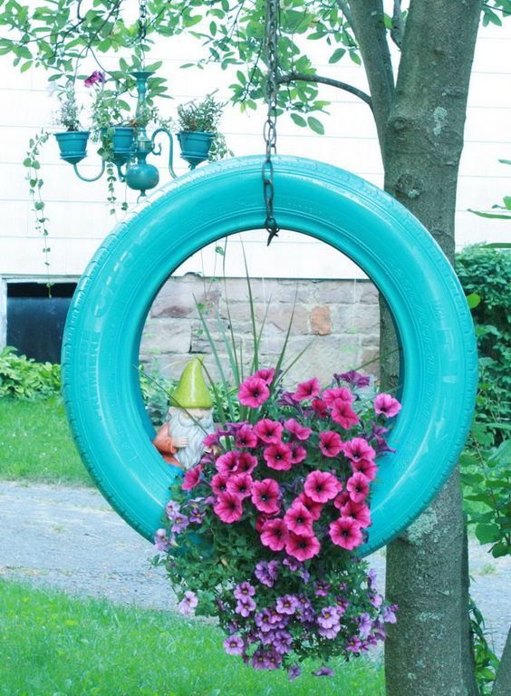 Ideas for Recycling Rims or Tires