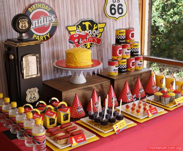 Organize Lightning Mcqueen Cars Party 7 How To Organize