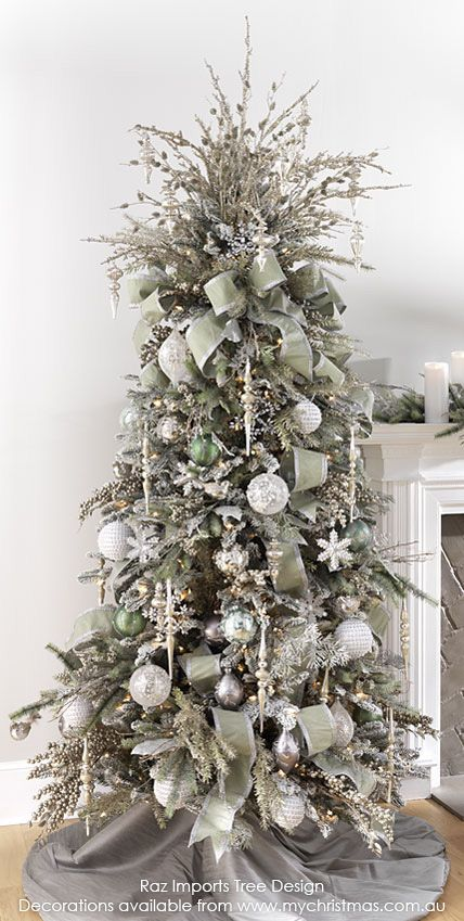 2017 2018 christmas tree trends - Christmas Decor Trends 2018