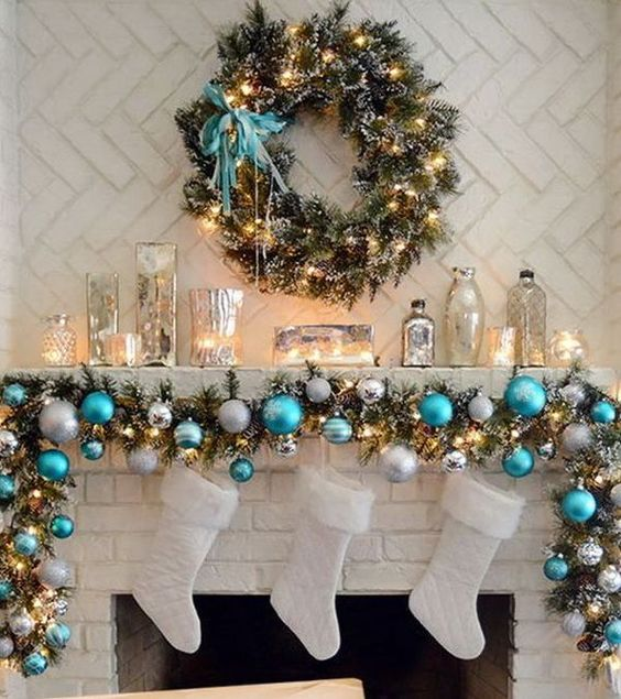 The 2018 Trends For Christmas Decorations: Christmas-decor-trends-2017-2018 (28)