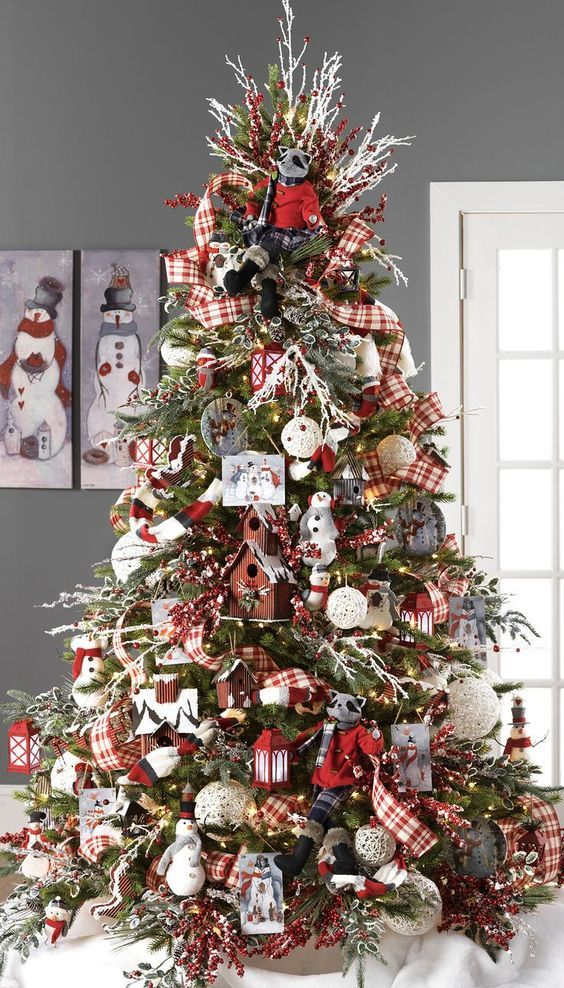 Modern Christmas Tree Decorating Ideas