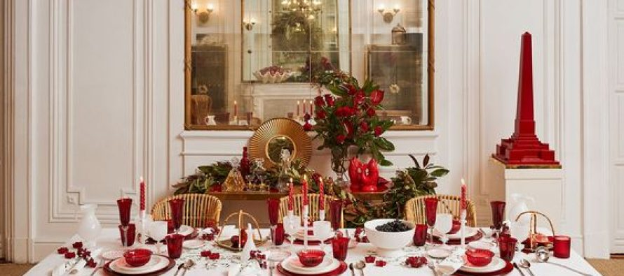 Ideas to decorate your table at the christmas dinner 2017 2018 for Ideas for christmas dinner