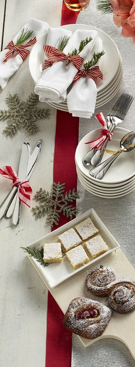 Ideas to decorate your table at the christmas dinner 2017 2018 - Martha stewart decoracion ...