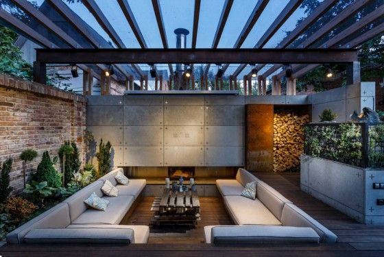 Ideas for setting up a garden on the roof of your house