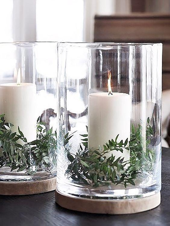 Minimalist Christmas decoration