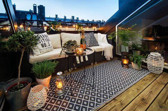 Rooftop terraced designs perfect for inspiration