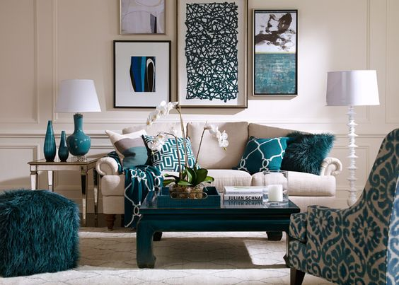 Turquoise decoration that you will love