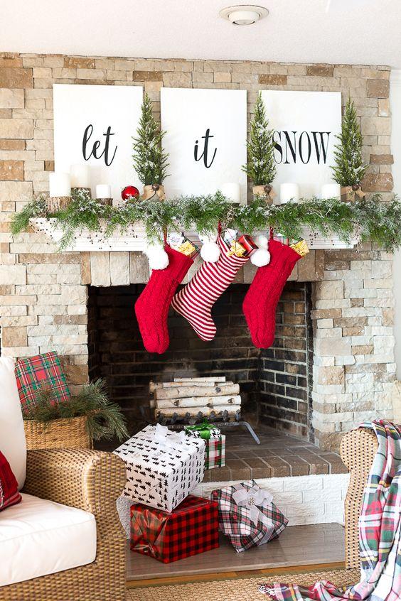 Christmas Tree Up Yourself Living Room
