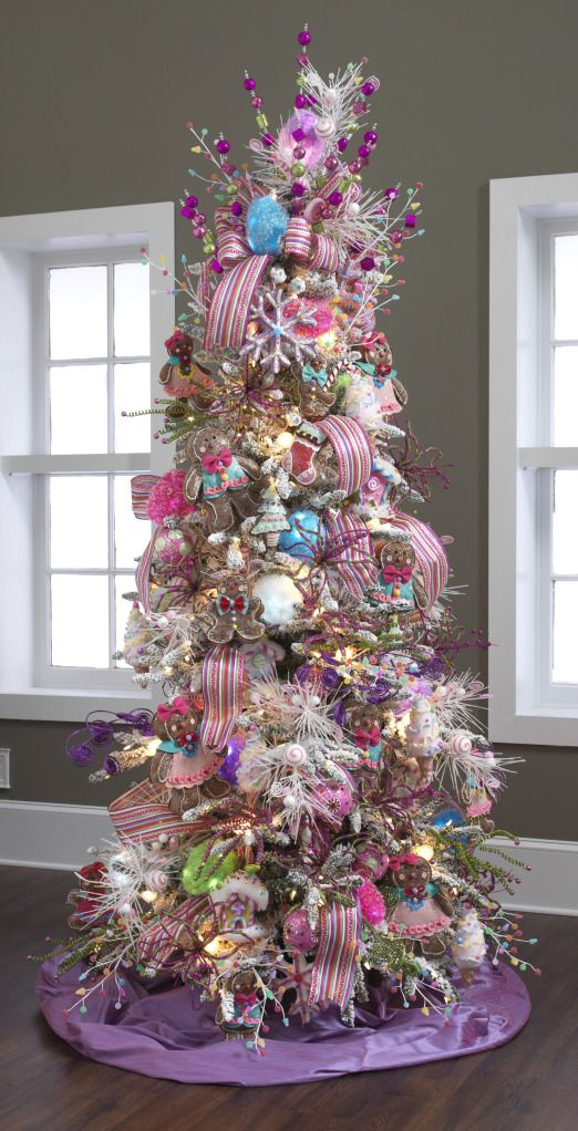 40 ways to decorate a christmas tree