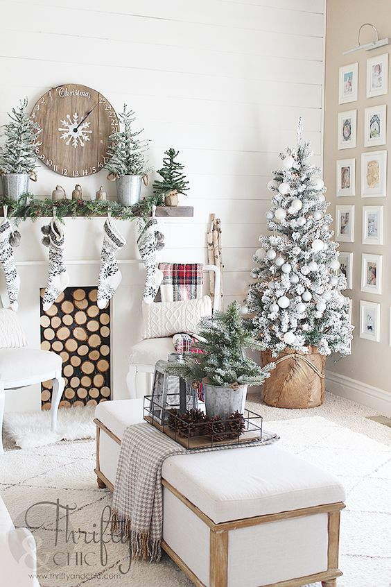 Christmas home decor ideas 2018 super   Kompan home decor