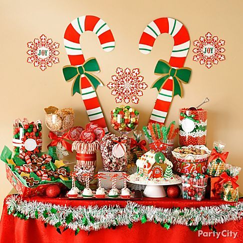 Ideas setting dessert table christmas 1 how to organize for Christmas place setting gift ideas