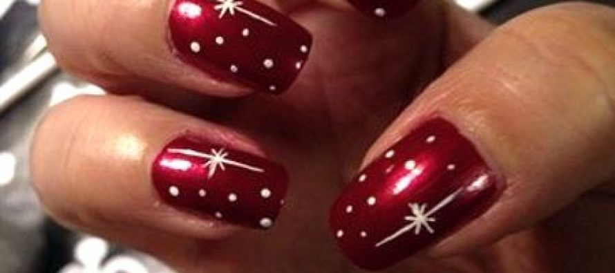 Beautiful nail designs for christmas prinsesfo Image collections