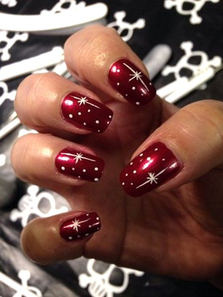 Beautiful Nail Designs For Christmas