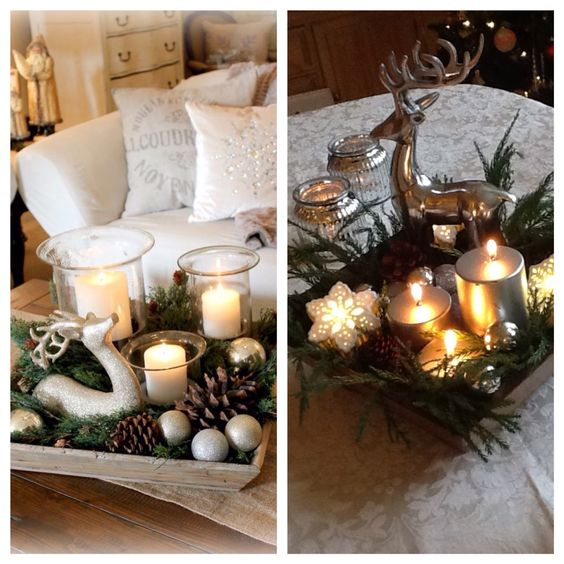 The 2018 Trends For Christmas Decorations: Christmas-deer-trend-decoration-2017-2018 (18)