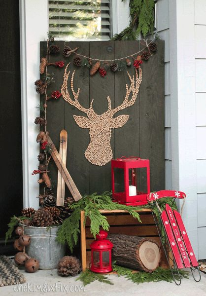 Christmas With Deer A Trend In Decoration For This 2017 2018