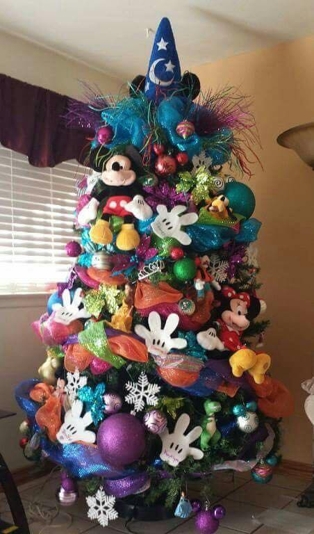 Mickey Mouse Christmas Tree Decorating Ideas.Decorating Ideas For Christmas With Mickey Mouse