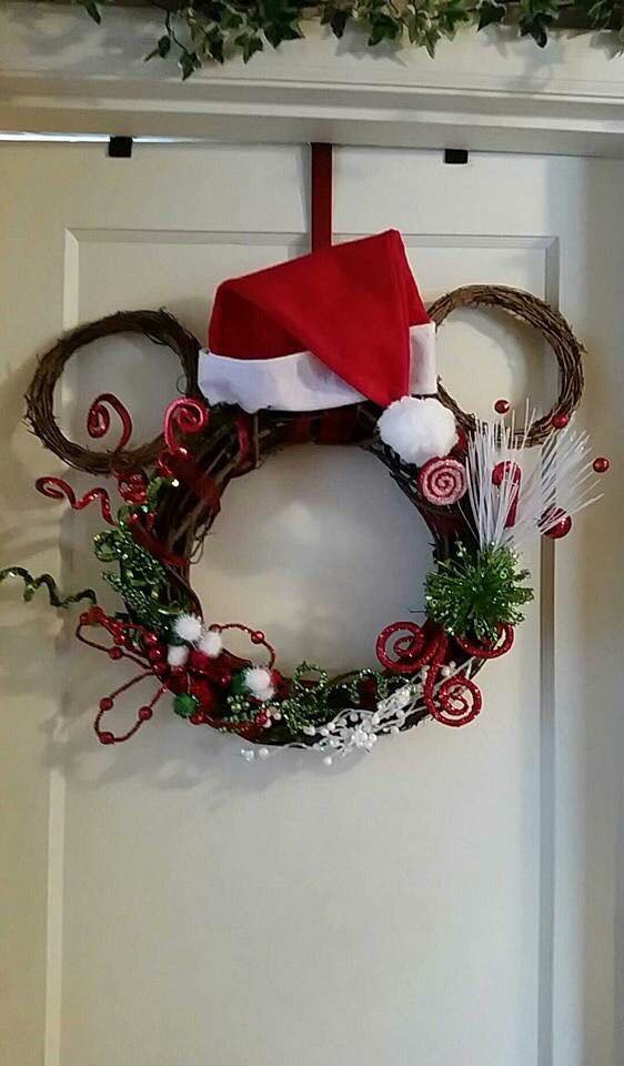 christmas centerpiece craft ideas decorating ideas for with mickey mouse 3564