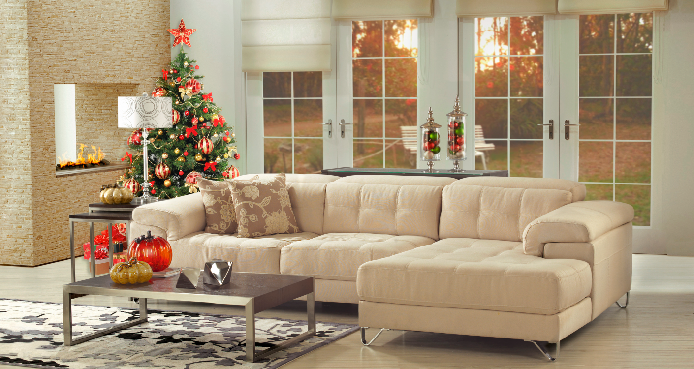 you must take into account the proportions of your living room the size and the space you have to decorate it is not just about cramming it with christmas