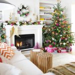 How to decorate your living room this Christmas 2017 - 2018 (17)