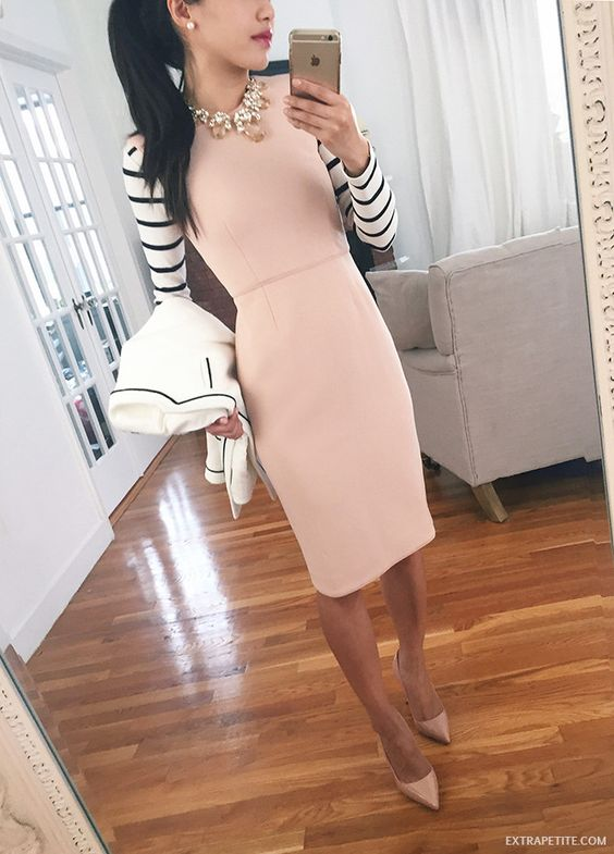 Pencil dresses that you can make