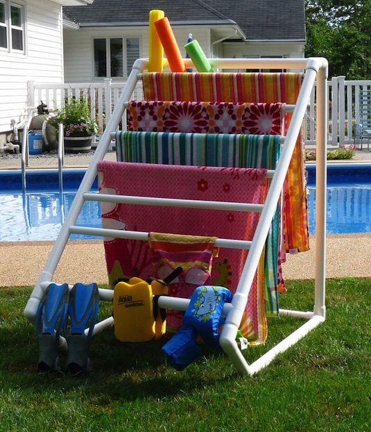Como organizar la piscina