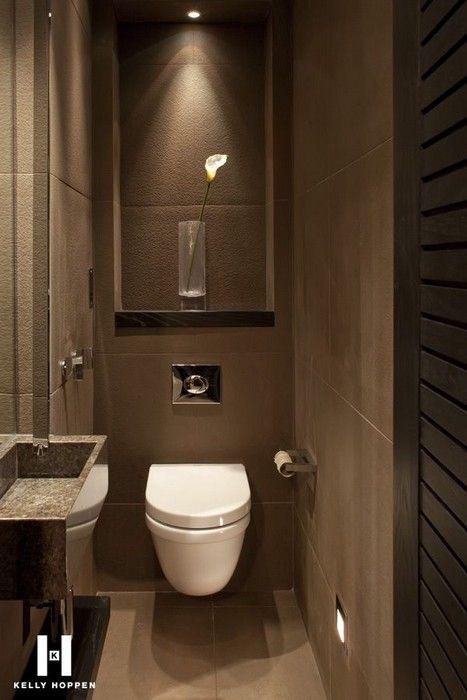 Como decorar un baño en tonos chocolates  Curso de ...