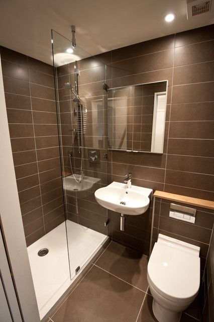 Organizacion Baño Pequeno:Small Bathroom Shower Design Ideas