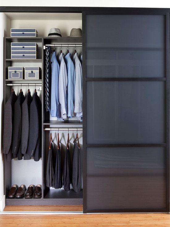 Como organizar un closet para hombre tips de organizaci n for Closet modernos para hombres