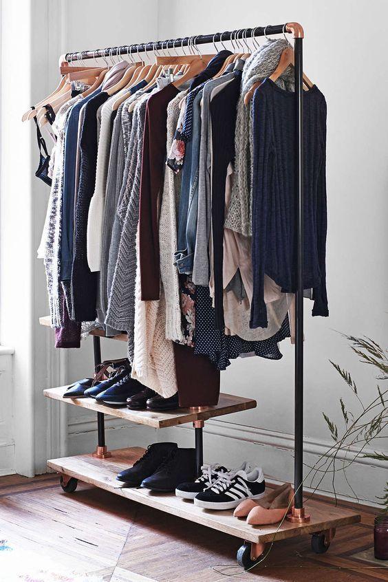 como ordenar un closet pequeno de hombre (5)