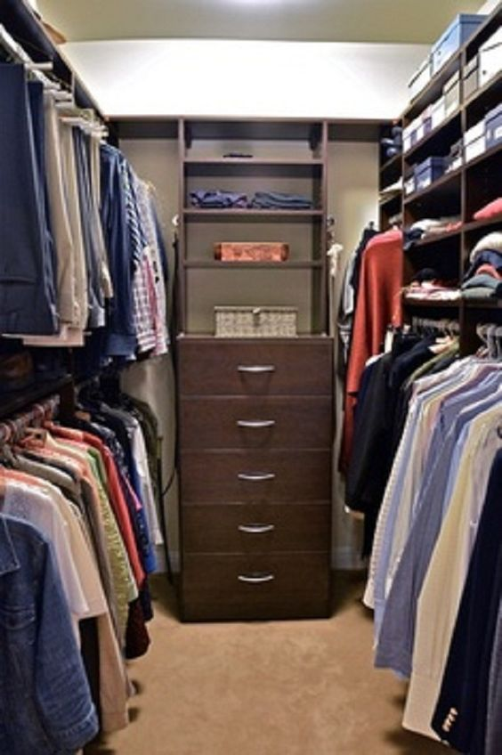 Como organizar un closet pequeño