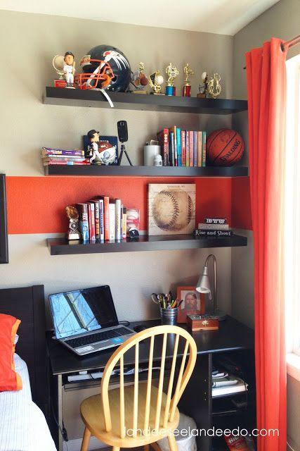 Como organizar habitación de un adolescente