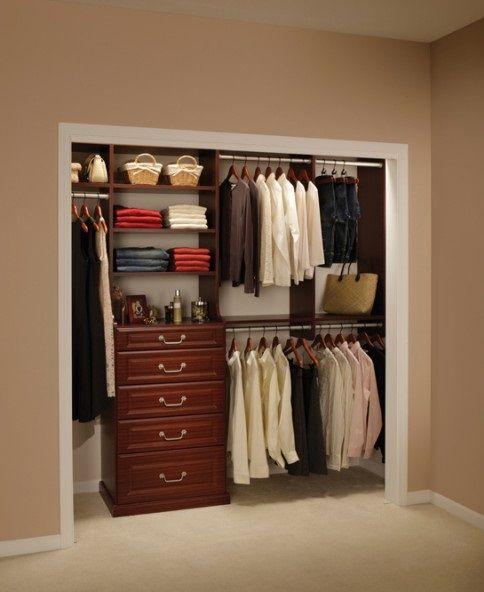 Ideas organizar closet de hombre 5 decoracion de - Armarios para habitaciones pequenas ...
