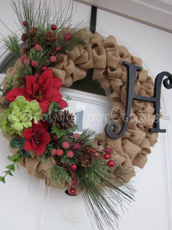Como Hacer Una Corona De Navidad Con Flores De Tela 4