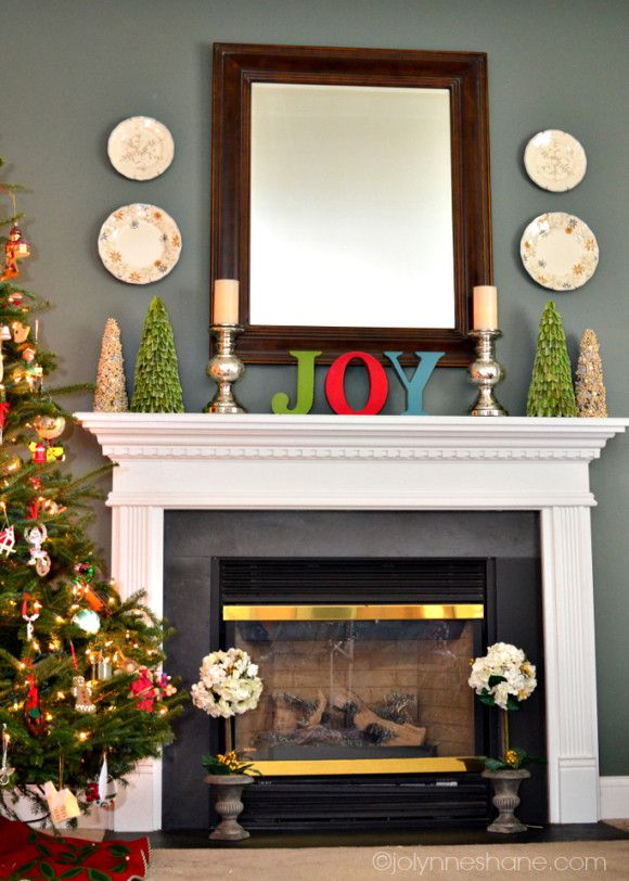 Ideas para decorar chimeneas en navidad - Decoracion de chimeneas modernas ...