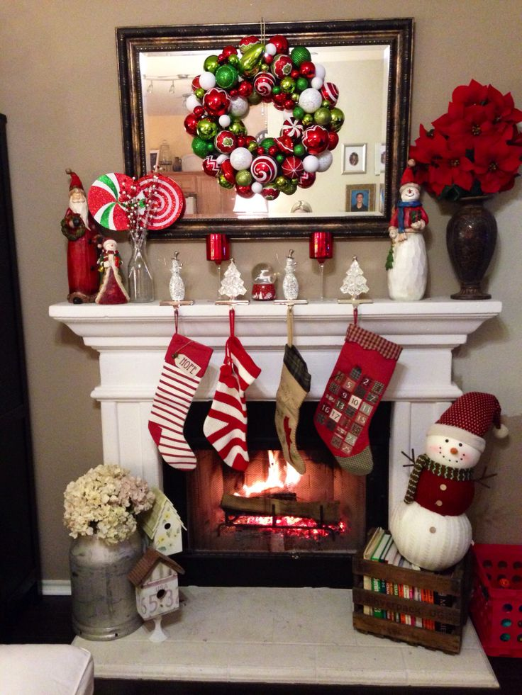 Ideas para decorar chimeneas en navidad - Ideas decoracion casa ...