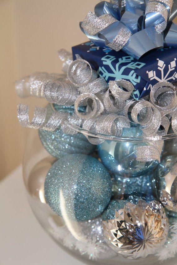 arbol navidad azul plata. Decoracion para Navidad 2015 \u2013 2016