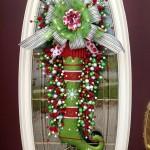 Paso a paso para Decorar la puerta para esta Navidad DIY.-puerta-de-navidad