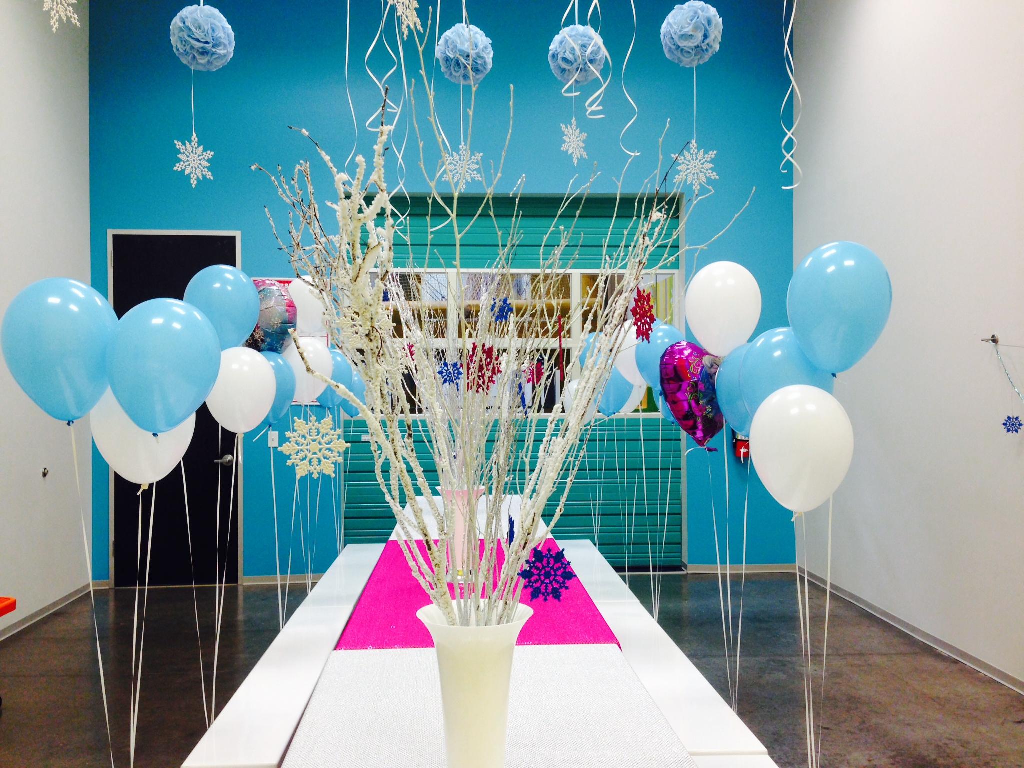 Decoraciones con globos para casas