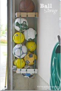 como organizar baoles de futbol