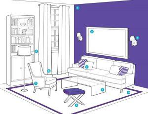 como-organizar-la-sala-de-estar