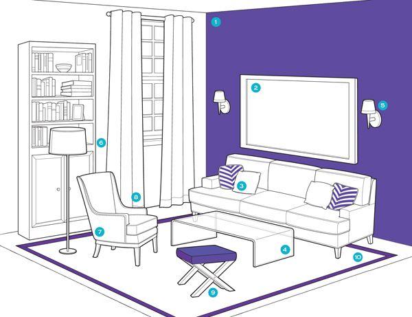 Como Organizar La Sala De Estar Decoracion De Interiores