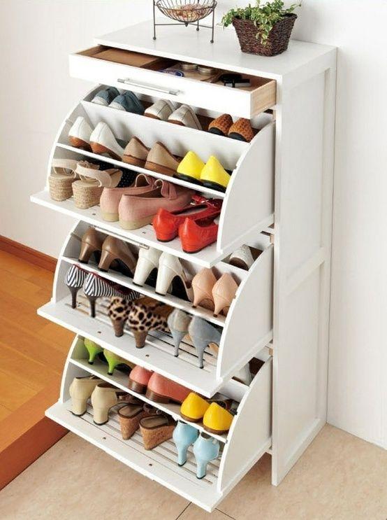 ideas para guardar zapatos