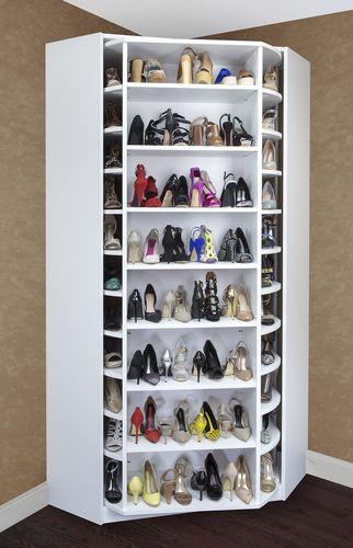 como organizar zapatos de mujer