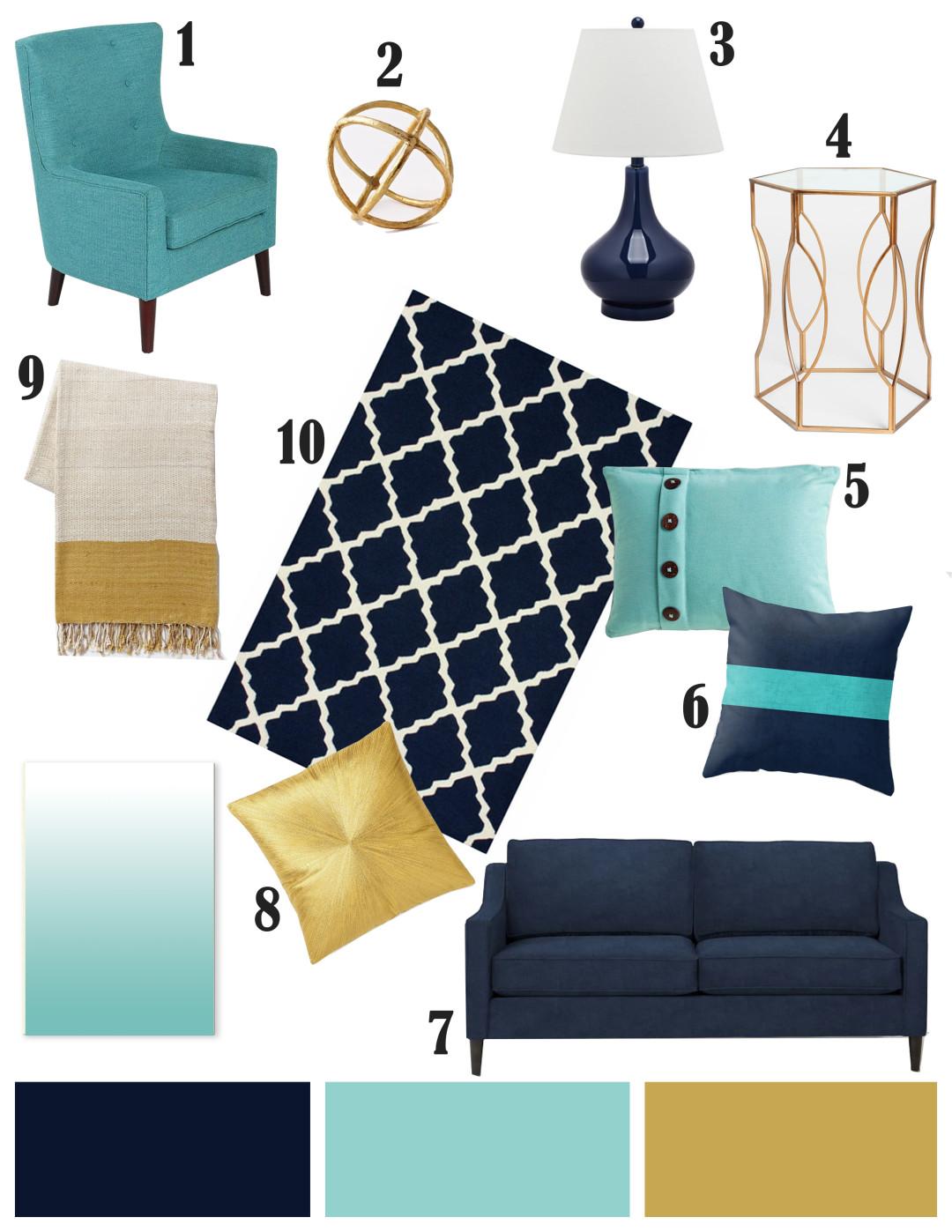 Como organizar y decorar la sala de estar