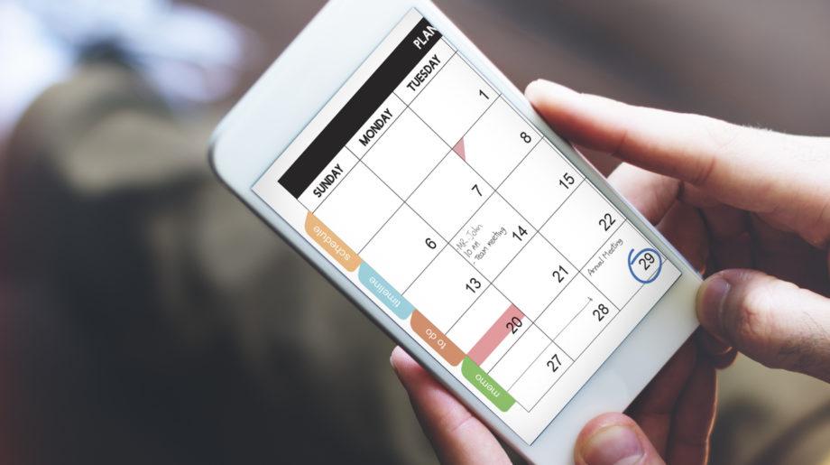 Ejemplos de app planificador digital