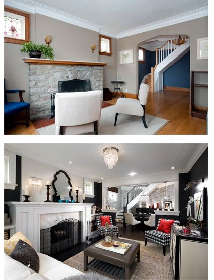 Ideas para un antes y despues en nuetro hogar 3 decoracion de interiores fachadas para casas - Decoracion de casas antes y despues ...