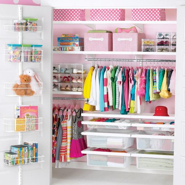 como organizar un closet infantil - Como Organizar Un Armario