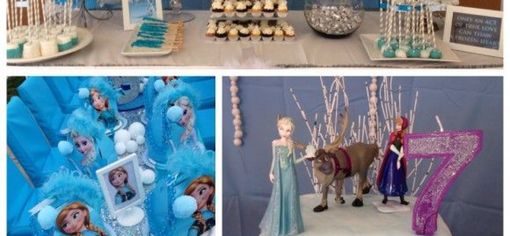 Collage de ideas para tu fiesta frozen. - Fabrica de ideas.